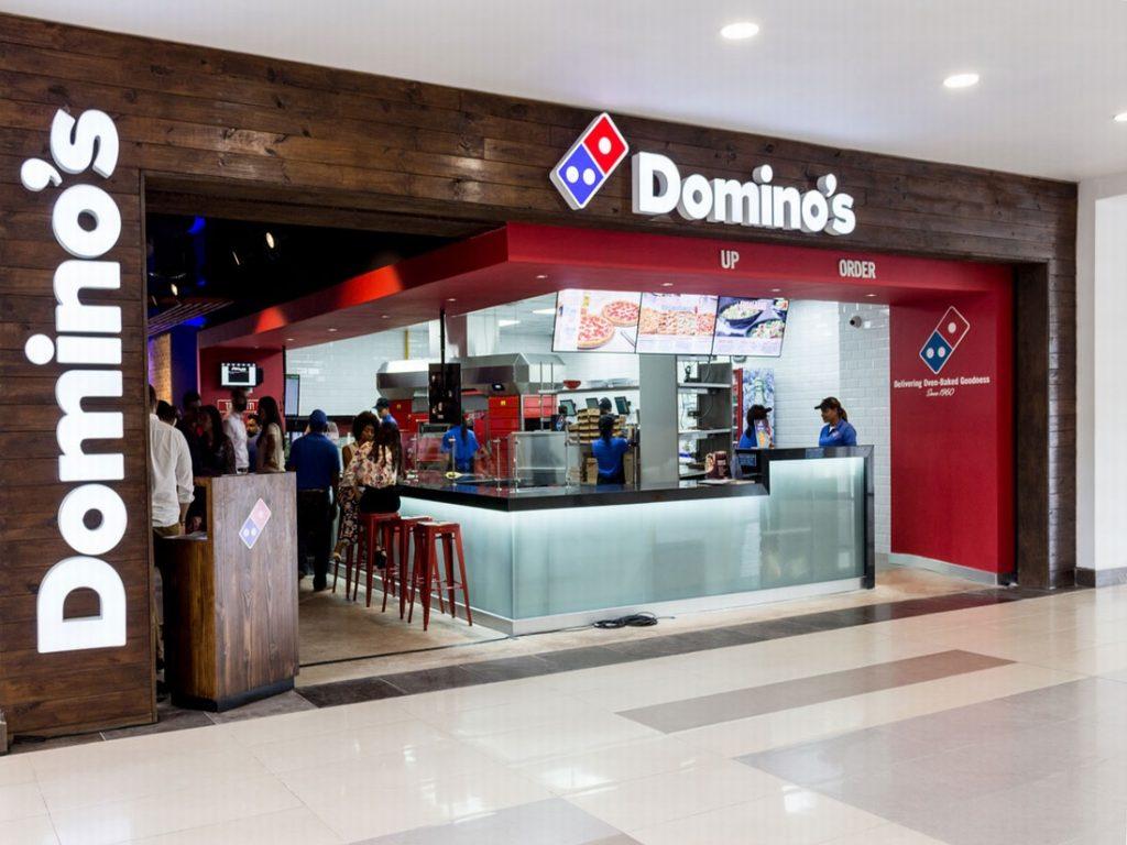domino pizza in punta cana location